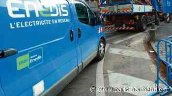 Près de Gisors, 151 foyers privés de courant dans la nuit - Paris-Normandie