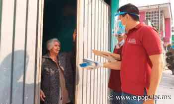Entregan pollo gratis a familias necesitadas en San Pedro Cholula - El Popular
