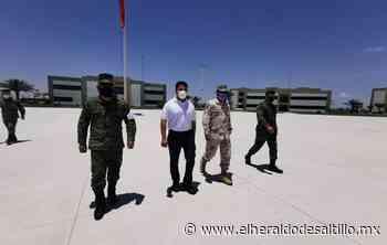 Sostiene Delegado Federal reunión en Guarnición Militar en San Pedro de las Colonias - El Heraldo de Saltillo