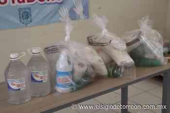 Donan materiales de limpieza al IMSS en San Pedro - El Siglo de Torreón