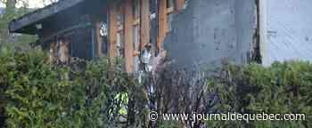 [PHOTOS] Incendie dans un duplex à Québec