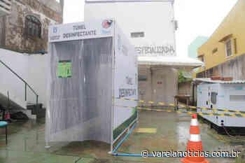 Lauro de Freitas instala túneis de desinfecção para profissionais da saúde - Varela Notícias
