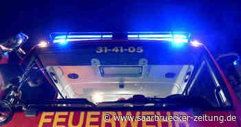 Feuerwehren mussten zu Brand in Kirkel-Neuhäusel ausrücken - Saarbrücker Zeitung