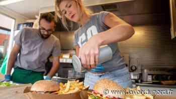 Linselles : VG'Terrien, le foodtruck végétarien, reprend la route avec ses burgers maison - La Voix du Nord