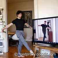 Watching ABT's Virtual Ballet Class