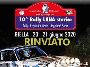Rally: Rinviato il decimo 'Lana Storico' di Biella - Aostasports.it