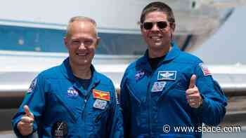 These 2 NASA astronauts are ready to make history on a SpaceX spaceship