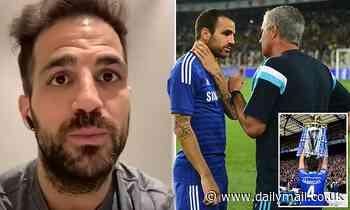 Cesc Fabregas reveals his first conversation with Jose Mourinho at Chelsea