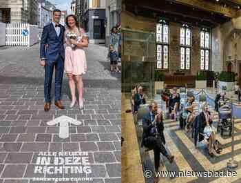 """Trouwen met publiek mag weer in Gent: """"Straks op 'huwelijksreis' naar Sealife"""""""