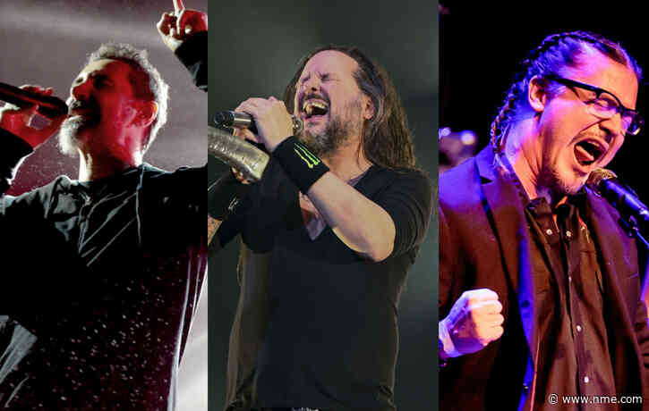 System of Down, Faith No More and Korn announce rescheduled joint shows