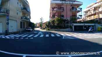 Loano, prosegue il rifacimento della segnaletica stradale (foto) - AlbengaCorsara News