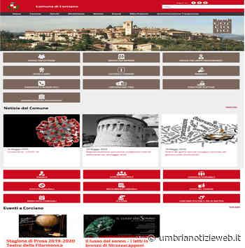 CORCIANO: Nuovo sito web istituzionale progettato per una nuova Era Digitale. - Umbria Notizie Web