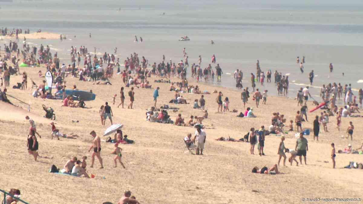 PHOTOS. Déconfinement - Bray-Dunes : très grosse affluence sur la plage, les gendarmes débordés - France 3 Régions