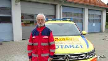 Notarzt aus Laichingen hört auf: Dramatische Einsätze und dankbare Patienten - SWP