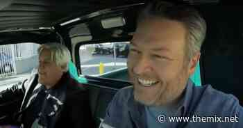 Jay Leno Surprises Blake Shelton With Once In Lifetime Shot To Drive Elvis' Truck - The MIX