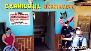 Tabalosos: Fiscalía verifica cumplimiento de medidas sanitarias - VIA Televisión