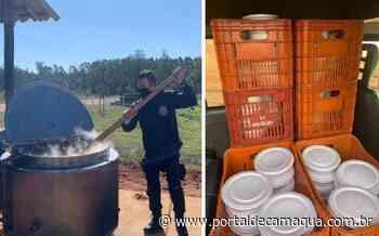 Servidores da Penitenciária de Arroio dos Ratos distribuem mil pratos de sopão à comunidade carente - Portal de Camaquã