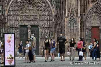 Saint-Malo, Strasbourg… Le port du masque obligatoire dans plusieurs villes - CNEWS.fr