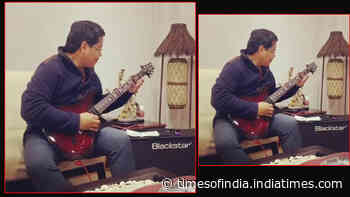 Watch: Meghalaya CM Conrad Sangma takes internet by storm with his guitar rendition