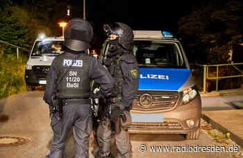Update: Großeinsatz der Polizei zu Männertag - Radio Dresden