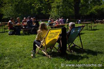 Dresden: Männertag unter Corona-Bedingungen - Sächsische Zeitung