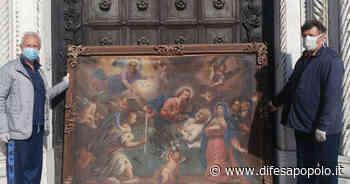 Piove di Sacco. Al via il restauro della tela ad olio del 700 raffigurante la morte di San Giuseppe - La Difesa del Popolo