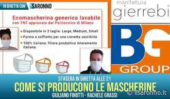 """Videointervista, """"come sono prodotte le mascherine made in Rovellasca?"""" - ilSaronno"""