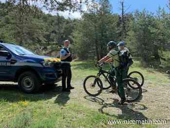 Covid-19: gendarmes et agents de l'Office des forêts assurent la prévention ce week-end