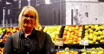 Heike Jansen, Edeka-Inhaberin in Baesweiler, lässt nur 65 Kunden rein - Aachener Zeitung