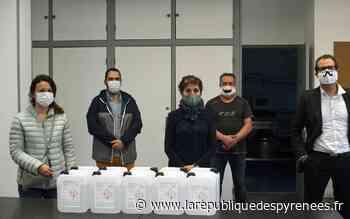 Mourenx: 50 litres de gel hydroalcoolique ont été offerts au centre social - La République des Pyrénées