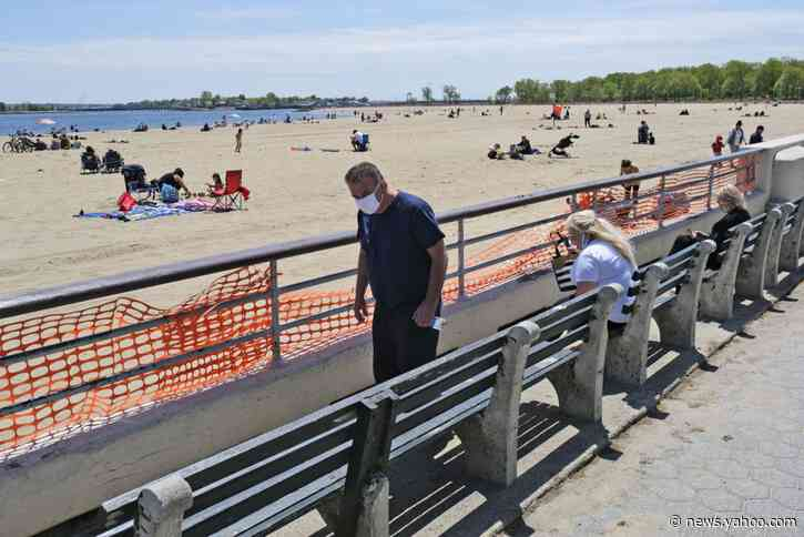 What a weekend: Cuomo eases ban on groups; NYC beaches open