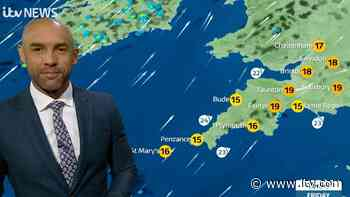 UK weather forecast: A dry and fine day across the south west but winds will be brisk and it won't feel as warm - ITV News