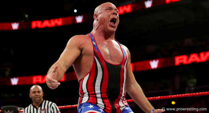 WWE Reveals KURT ANGLE As Special Guest Referee For NXT Cage Fight