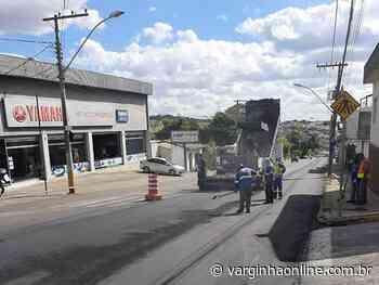 Prefeitura de Varginha inicia recapeamento asfáltico em ruas e avenidas da cidade - Varginha Online