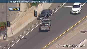 Wrong-way driver slams into innocent motorist on 110 Fwy