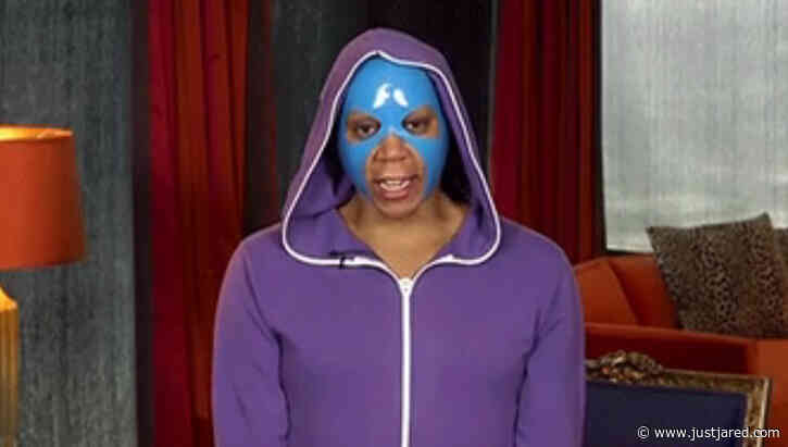 RuPaul Wears a Beauty Mask & Hoodie for 'Drag Race' Reunion!