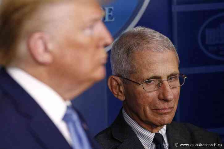 According to Dr. Anthony Fauci the Reopening of the US Economy Would Endanger People's Heath