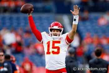 5/23: KC Kingdom- KC Chiefs: Patrick Mahomes included in top 25 under 25 not shocking