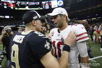 5/23: Who Dat Dish- NFL Schedule: Saints are the only team favorited to beat the 49ers