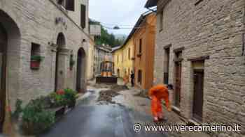 Maltempo: situazione verso la normalità a Camerino grazie a operai comunali, Protezione Civile e cittadini - Vivere Camerino