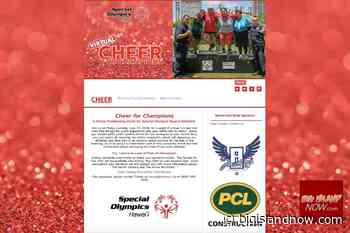 Special Olympics Cheer for Champions Event Moves Online - Big Island Now