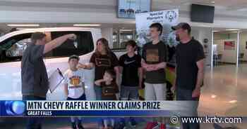 Special Olympics are very personal for truck raffle winner - KRTV Great Falls News