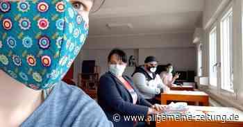 Stdt Geisenheim gibt Material zum Maskenbasteln aus - Allgemeine Zeitung