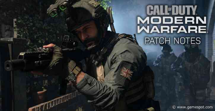 Call of Duty: Modern Warfare and Theater Update May 18-Full Patch Instructions