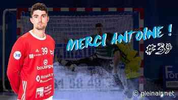 Handball : Antoine Julien quitte le GBDH et rejoint Belfort - Plein Air