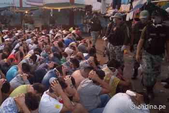 Inpe requisa 85 armas punzocortantes y 25 televisores en penal de Picsi en Chiclayo - Agencia Andina