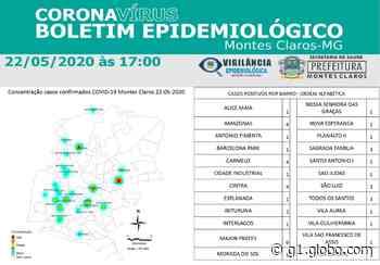 Coronavírus: Veja distribuição dos casos confirmados por bairros em Montes Claros - G1