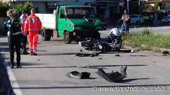 Incidente a Jesi, moto contro furgone. Giovane gravissimo - il Resto del Carlino