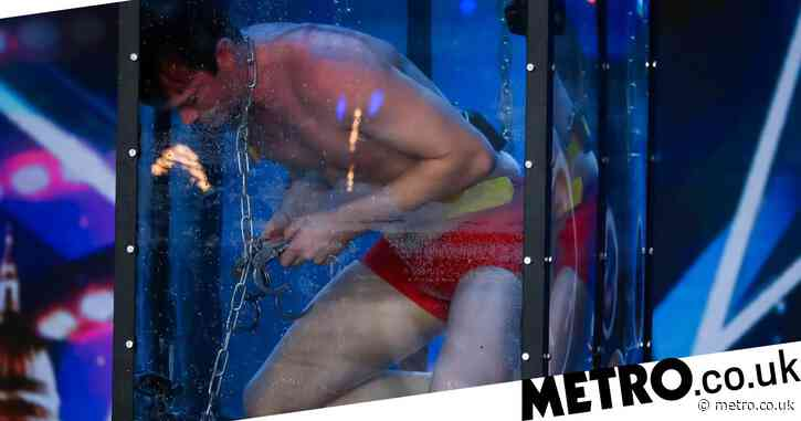 Britain's Got Talent viewers in shock as underwater escape act Christopher Weber nearly drowns in stunt: 'That was close'