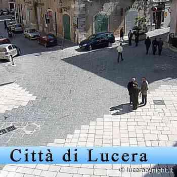 Via Amicarelli a Lucera chiusa al passaggio pedonale - lucerabynight.it